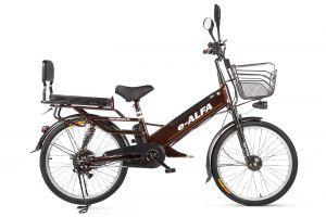 Велосипед Eltreco e-Alfa GL (2018)