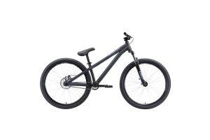 Велосипед Stark'20 Pusher-2 чёрный/серый S H000014184