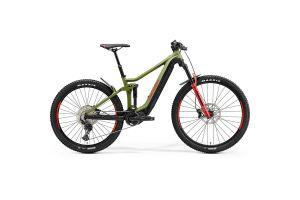 Велосипед Merida eOne.Forty 500 MattGreen/Black(Red) 2021