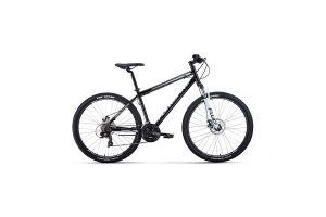 Велосипед 27,5' Forward Sporting 27,5 2.2 disc Черный/Белый 20-21 г