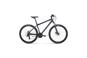 Велосипед 27,5' Forward Sporting 27,5 2.2 disc Темно-серый/Черный 20-21 г
