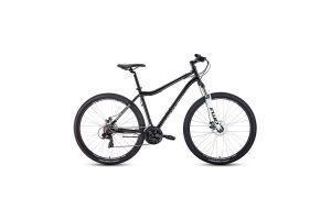 Велосипед 29' Forward Sporting 29 2.2 disc Черный/Белый 20-21 г