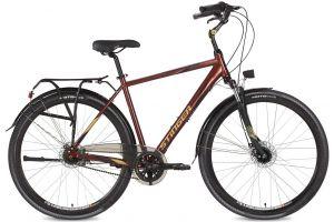 """Велосипед Stinger 28"""" Vancouver Evo 60; коричневый; SHIMANO NEXUS REVOSHIFT, 7 ск."""