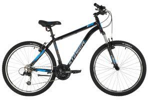 """Велосипед STINGER 26"""" ELEMENT STD черный, алюминий, размер 16"""", MICROSHIFT"""