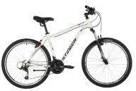 """Горный велосипед  STINGER 26"""" ELEMENT STD белый, алюминий, размер 16"""", MICROSHIFT"""