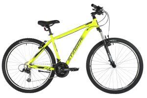 "Велосипед STINGER 27.5"" ELEMENT STD зеленый, алюминий, размер 16"", MICROSHIFT"