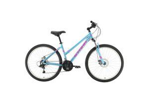 Велосипед Stark Luna 26.1 D голубой/розовый 2021
