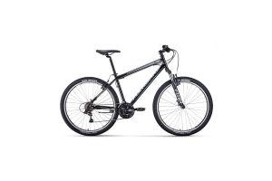 Велосипед 27,5' Forward Sporting 27,5 1.2 S Черный/Серебро 20-21 г