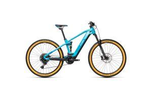 Велосипед CUBE STEREO HYBRID 120 PRO 500 29 (petrol'n'blue) 2021